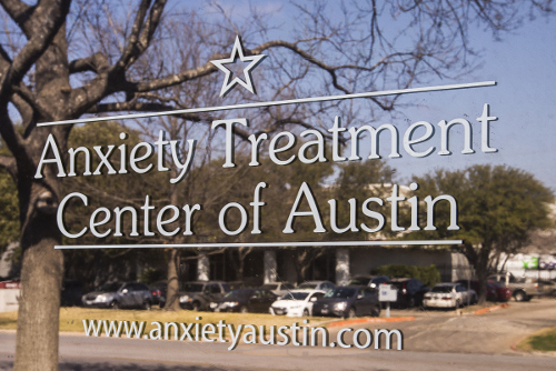 austin anxiety treatment center door